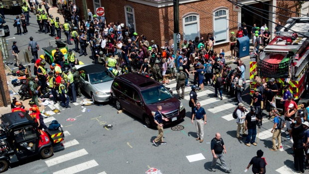 Twitter names, shames white supremacists present at the rally — Virginia violence