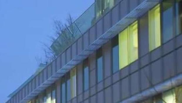 [NECN] Glass Panels Fall From Boston Hospital