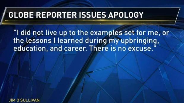 Globe Reporter Apologizes for Sexual Harassment