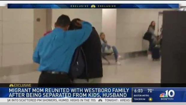 [NECN] Guatemalan Woman Reunites With Family in Boston
