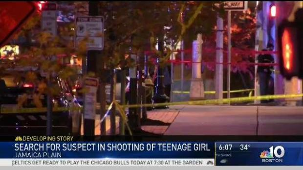 [NECN] Gunman Sought for Jamaica Plain Shooting