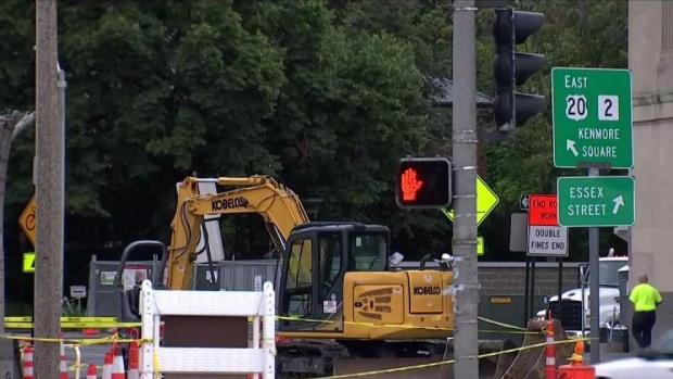 [NECN] Headaches Follow Commonwealth Avenue Bridge Work
