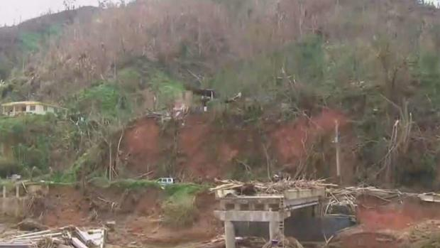 [NATL-NY]Puerto Rico Town Cut Off After Maria Gets New Bridge, But Still Struggles