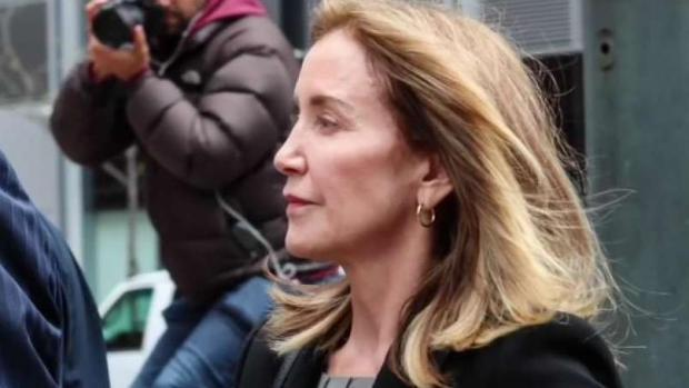 [NECN] Huffman Pleads Guilty in College Admissions Scam in Boston