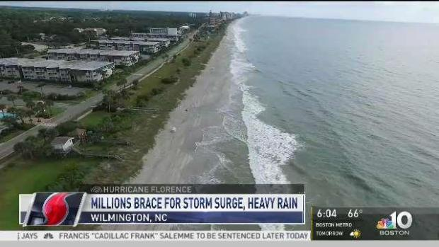 [NECN] Hurricane Florence Downgrades to Cat 2