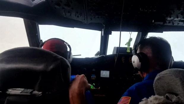 Hurricane Hunters Fly Into Harvey