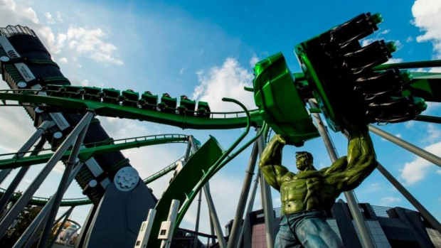 [NATL-MIA]Universal Islands of Adventure Named Best Theme Park in the World by TripAdvisor