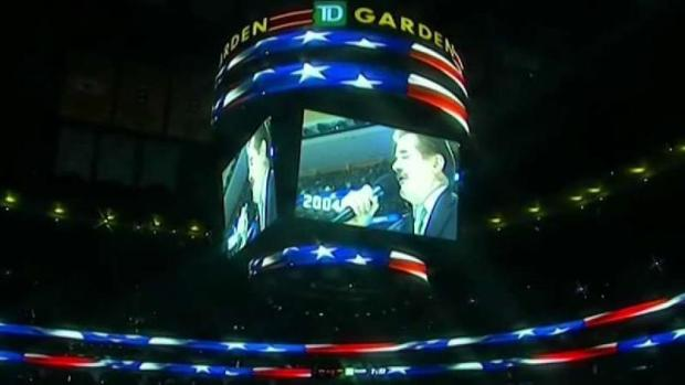 [NECN] Iconic Boston Bruins National Anthem Singer  Retires
