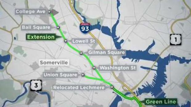 [NECN] Inside Look at MBTA's Green Line Extension