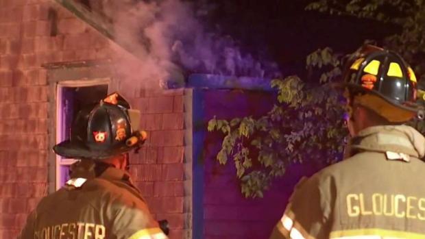 [NECN] Investigation Underway After House Destroyed in Fire
