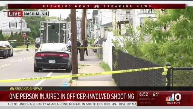 [NECN] Investigation Underway After Nashua Officer Involved Shooting