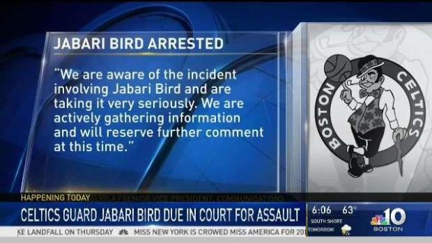 [NECN] Jabari Bird Faces Brighton Court for Domestic Assault