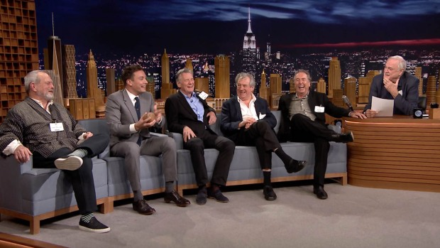 [NATL] WATCH: Monty Python's John Cleese Replaces Jimmy Fallon as Host