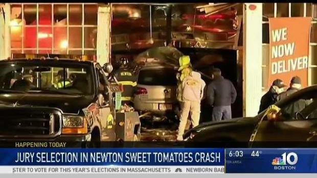[NECN] Jury Selection in Sweet Tomatoes Crash