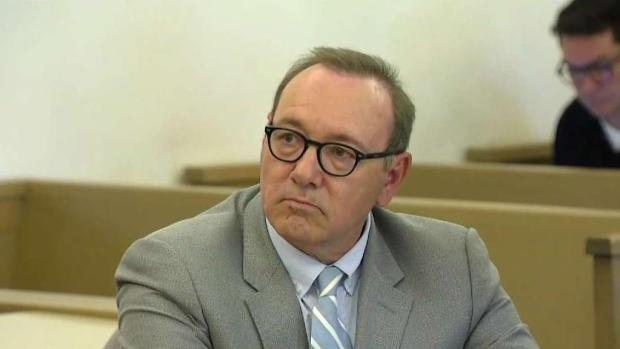 [NECN] Kevin Spacey Appears in Court on Nantucket