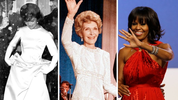 [NATL] First Ladies' Inaugural Fashion Through the Years