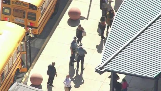 [NECN] Lawrence High School Dismissed After Lockdown Due to Threat