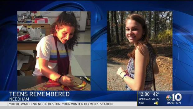 [NECN] Loved Ones Remember 2 Needham Teens Killed by Car