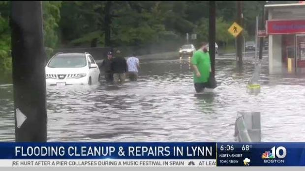 [NECN] Lynn, Mass. Community Prepares to Clean Up After Flood