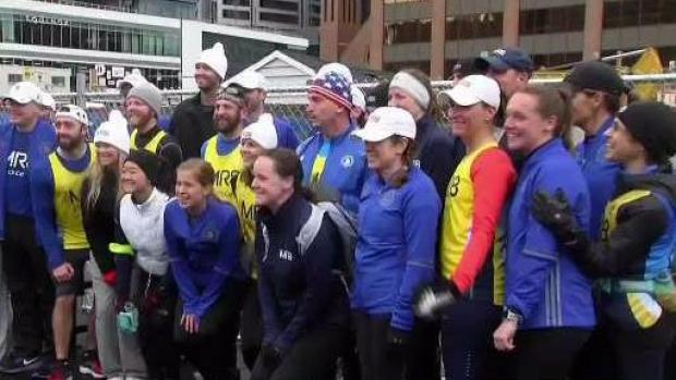 [NECN] Team MR8 Gears Up for Boston Marathon