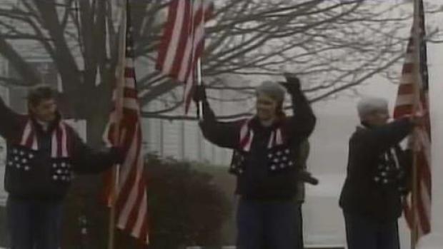 [NECN] Maine Women End Flag-Waving Tradition