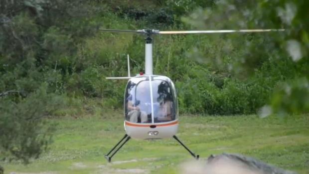 [NECN] Man Arrested for Flying Helicopter
