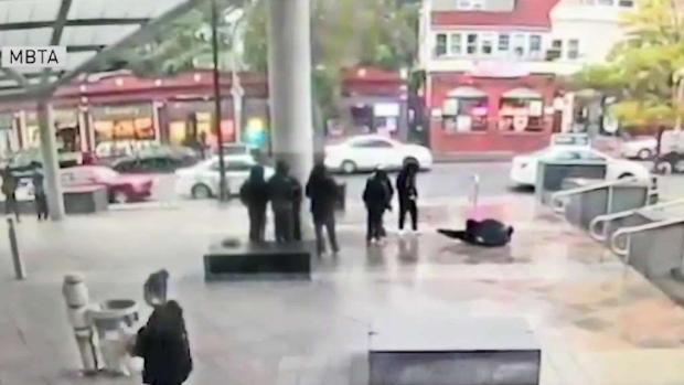 [NECN] Man Assaulted at MBTA Station, 1 Arrested