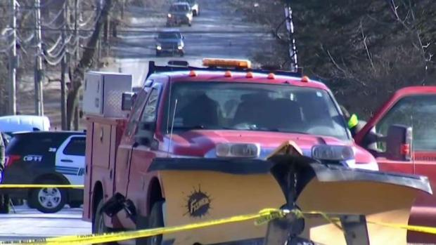 [NECN] Man Changing Tire in Easton Struck Killed by Plow