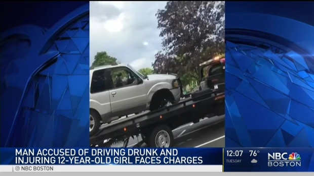 [NECN] Man Charged in Drunk Driving Crash That Injured Child