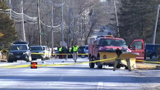 [NECN] Man Hit and Killed by Plow in Easton