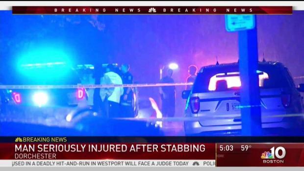 [NECN] Man Hospitalized Following Stabbing in Dorchester