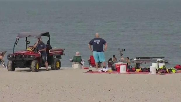 [NECN] Man Pulled From Water at Revere Beach