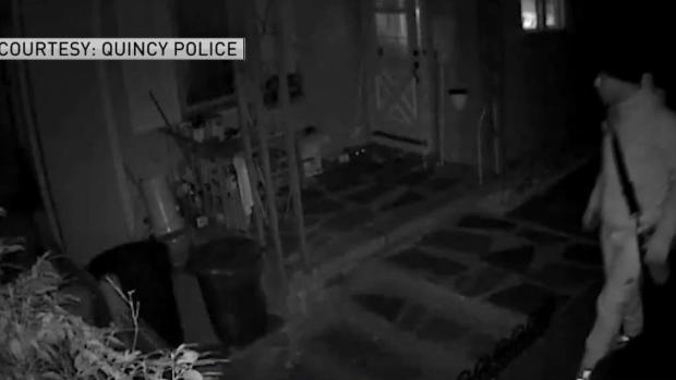 [NECN] Man Wanted in String of Quincy Break-ins