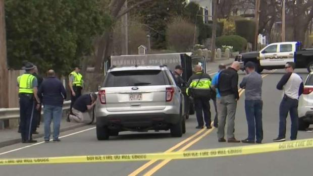 [NECN] Man, Woman Injured After Being Hit by Dump Truck