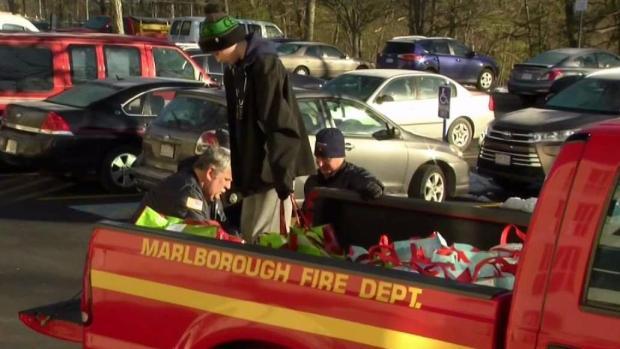[NECN] Marlboro Firefighters Help Less Fortunate