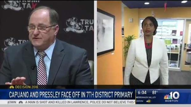 [NECN] Mass. Democrats Vie for 7th District Congressional Seat