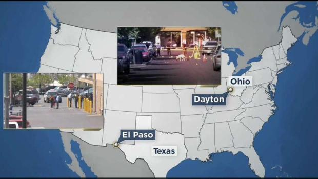 [NECN] Mass Shootings in Texas and Ohio