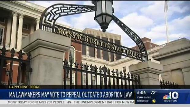 [NECN] Massachusetts Lawmakers Debate Abortion, Bills