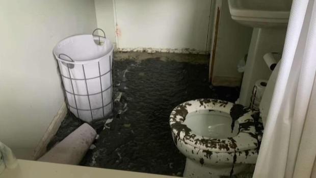 [NECN] Meeting in Melrose on Sewage Backup Incident