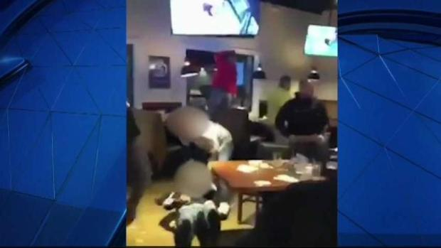[NECN]RAW VIDEO: Methuen Bar Fight Following Televised UFC Bout