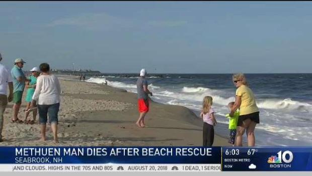 [NECN] Methuen, Mass. Man Dies After Beach Rescue