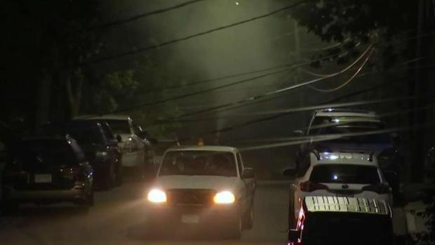 [NECN] Mosquito Spraying Begins in Boston