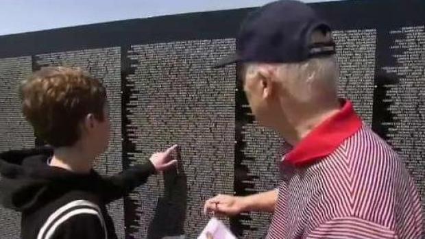 [NECN] Vietnam Veterans Memorial in NH for Memorial Day