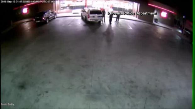 [NATL] Man Plows Car Into 3 Phoenix Cops