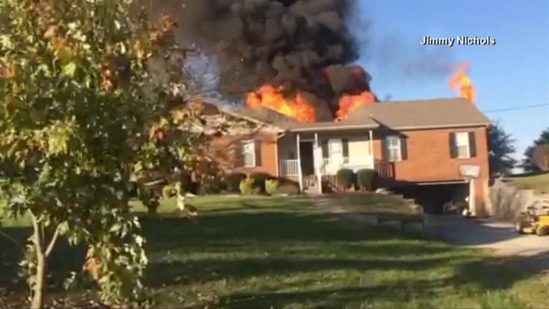 WATCH: Man Charges Into Burning Home to Save Dog