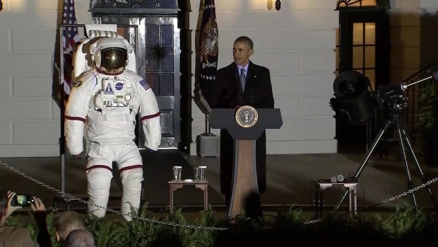President Obama Speaks at White House Astronomy Night