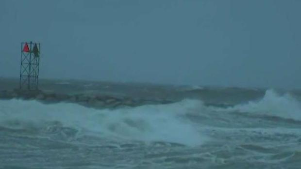 Heavy Winds and Pounding Surf Along Cape and the Islands