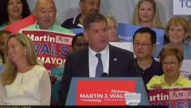 [NECN] Walsh Nominated for Second Term as Boston Mayor