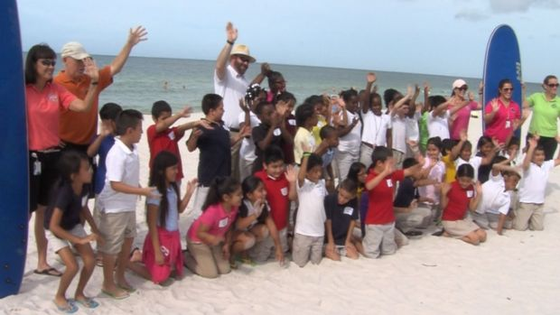Florida Third Graders See Ocean for the First Time