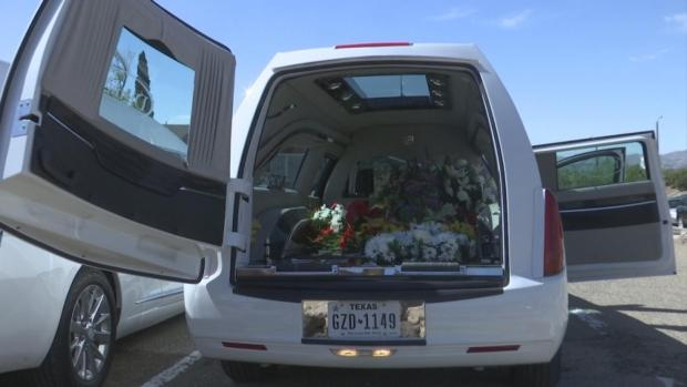[NATL] 22 Hearses Carry Flowers to El Paso Shooting Site